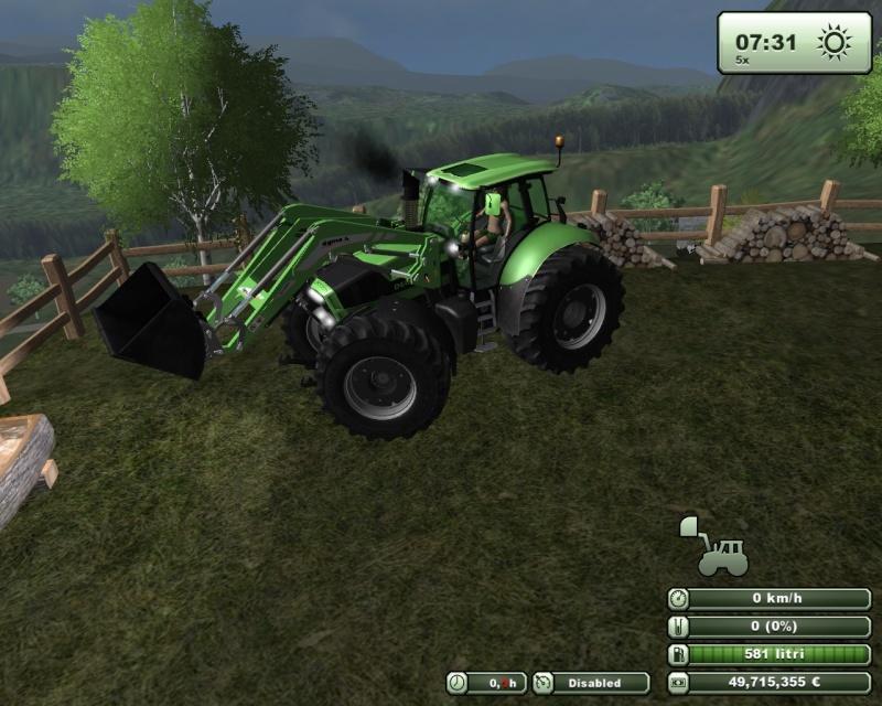 Deutz Agrotron X720 Special  Fsscre70
