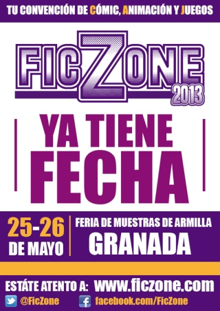 FicZone 2013: Convencion de COMIC-ANIMACION-JUEGOS  Teaser10