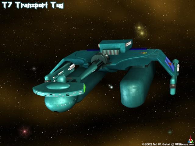 """Klingon """"Tug""""  K-tug-10"""