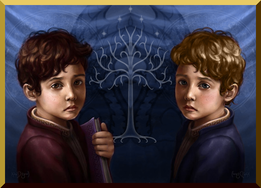 Tag irimon sur Bienvenue à Minas Tirith ! Twins11