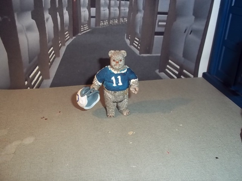 Star Wars American Football Ewok Custom - NFL Indianapolis Colts Nfl_ew11