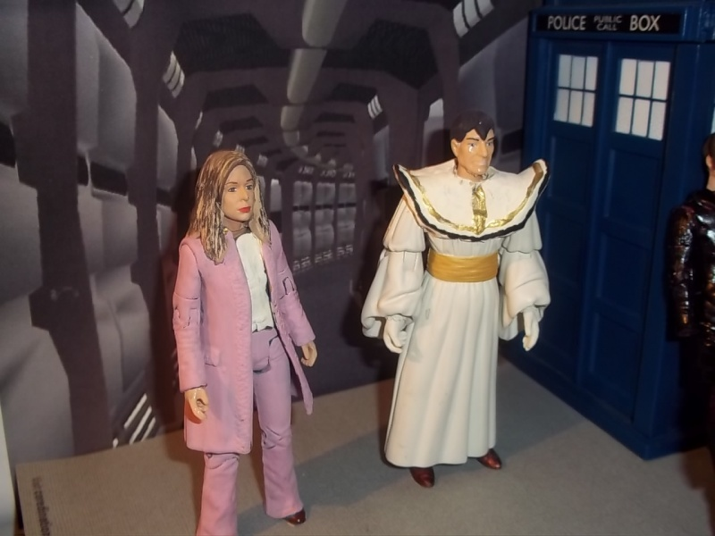 UPDATED Doctor Who Figure 5th Doctor Timelord Romana10