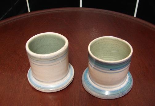 Delft pots? TT mark - possibly Terence Turnbull?  Dsc02410