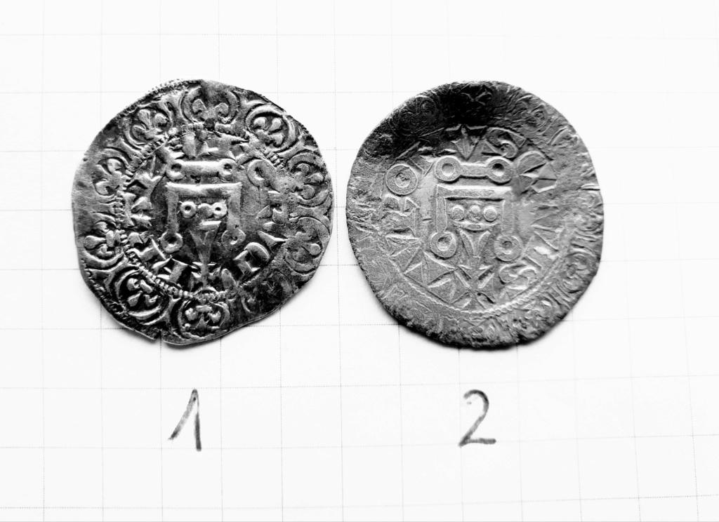 Maille pour Philippe IV et une autre pour Charles IV ... Pizoce29