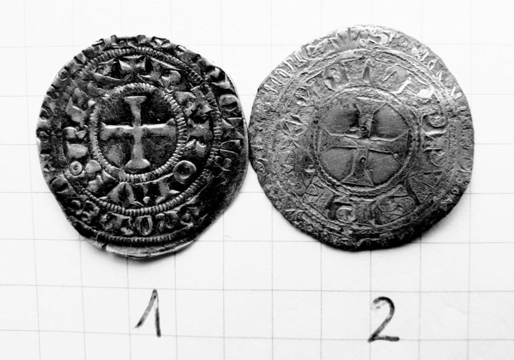 Maille pour Philippe IV et une autre pour Charles IV ... Pizoce30