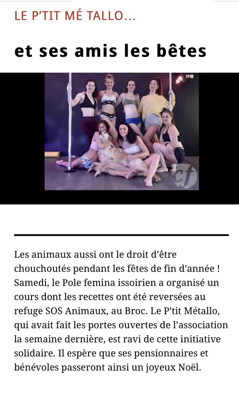 Collecte effectuée par  Au Pole Femina Issoirien 21.12.2019 7acbf810