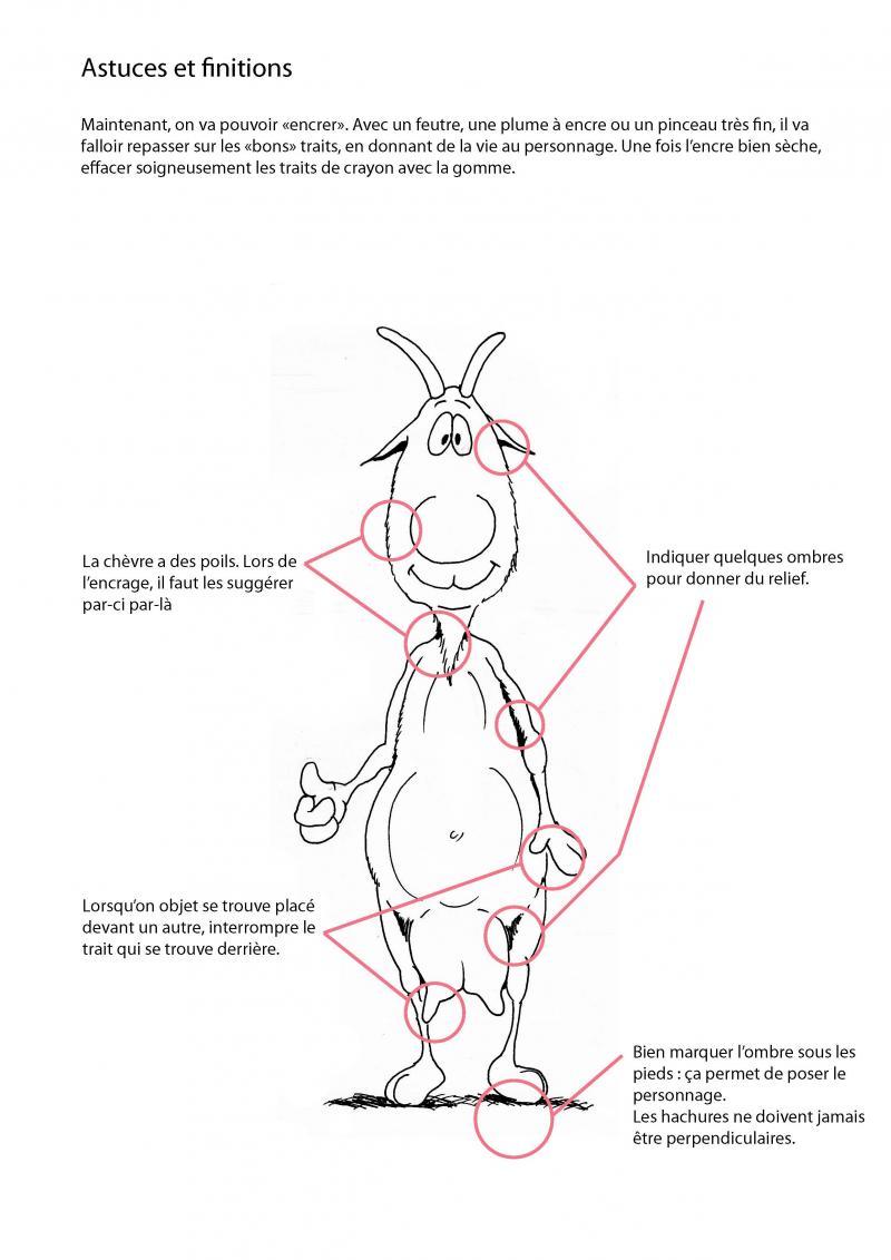 Dessiner des chèvres avec Alain Chrétien Dessin11