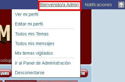 NOVEDAD EN FORO PSICO-SOCIAL MÁLAGA: ToolBar con un centro de notificación tipo FACEBOOK 04def10