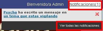 NOVEDAD EN FORO PSICO-SOCIAL MÁLAGA: ToolBar con un centro de notificación tipo FACEBOOK 05def10