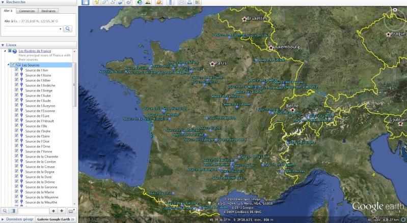 KMZ : Fleuves et Rivière du Monde Source10