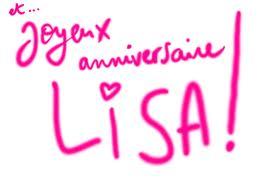 Joyeux Anniversaire Lisa !! Images10