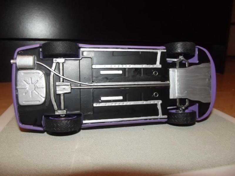 Mistubishi Lancer Evolution, kit Heller au 1/24 par Alex A910