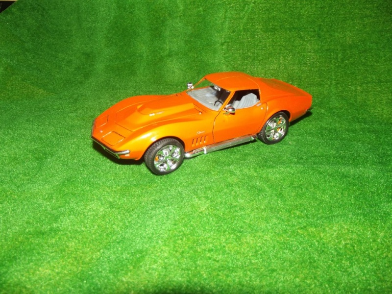 Corvette Stingray par Alex, kit AMT au 1/25 C1010