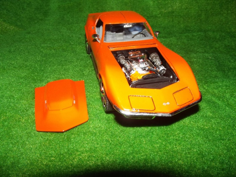 Corvette Stingray par Alex, kit AMT au 1/25 C210