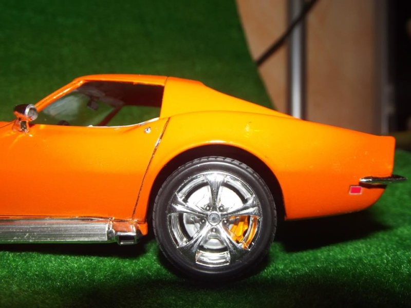 Corvette Stingray par Alex, kit AMT au 1/25 C610