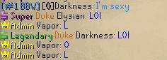 Darkness's true #1 talent Lol10