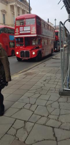 transport urbain à Londres 20190210
