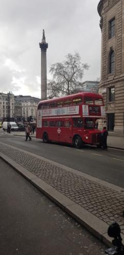 transport urbain à Londres 20190211