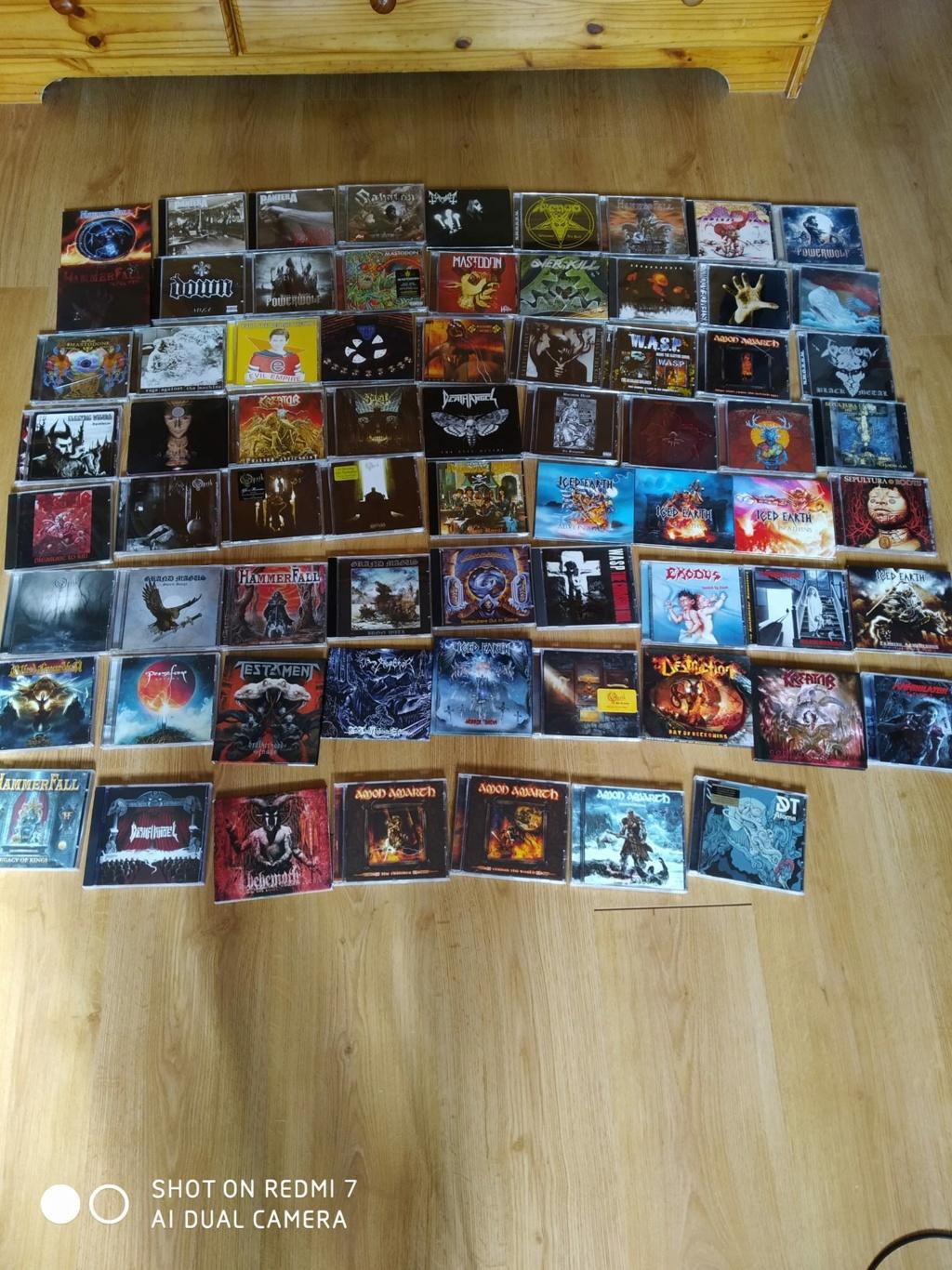Vente de cd metal  11892910