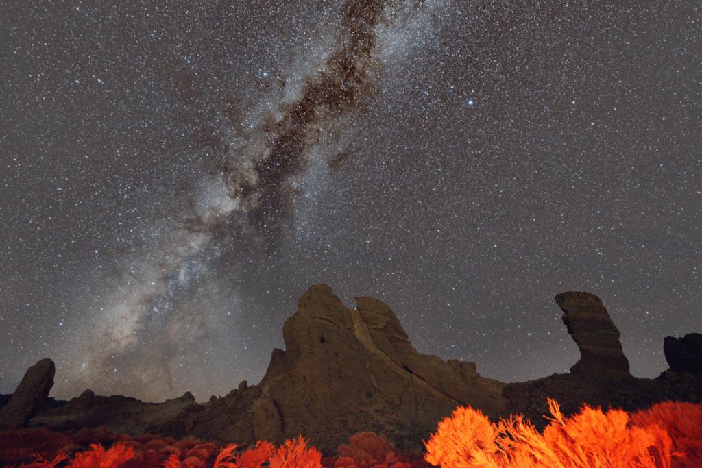 Le ciel de Ténérife Teide110