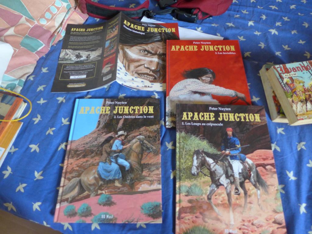 apache junction tome 1 . 2 .3 + 3 ex libris P1020413