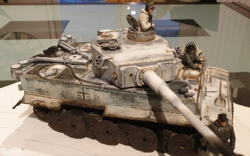 Montage en cours Tigre 1 front Russe 20191213