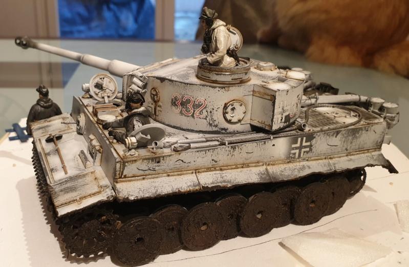 Montage en cours Tigre 1 front Russe 20191219
