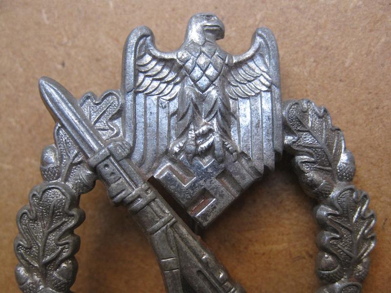 Badge Heer infanterie à authentifier pour un membre Image12