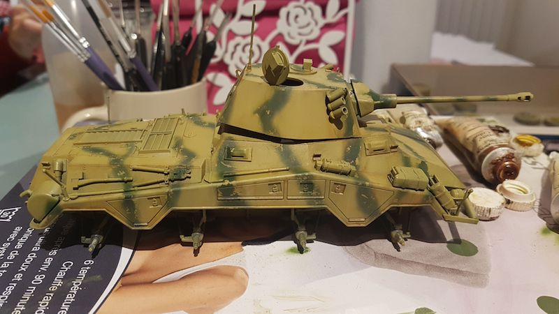 Sd.Kfz. 234/2 PUMA - Italeri 1/35 Img-2039
