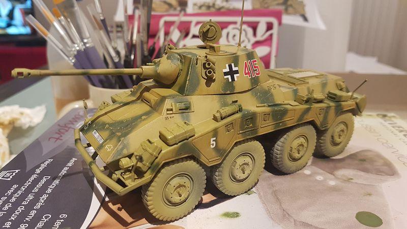 Sd.Kfz. 234/2 PUMA - Italeri 1/35 Img-2046