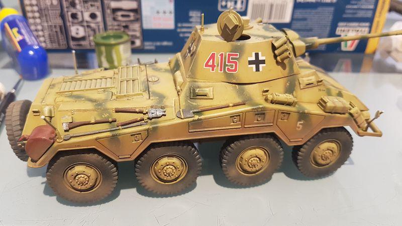 Sd.Kfz. 234/2 PUMA - Italeri 1/35 Img-2062