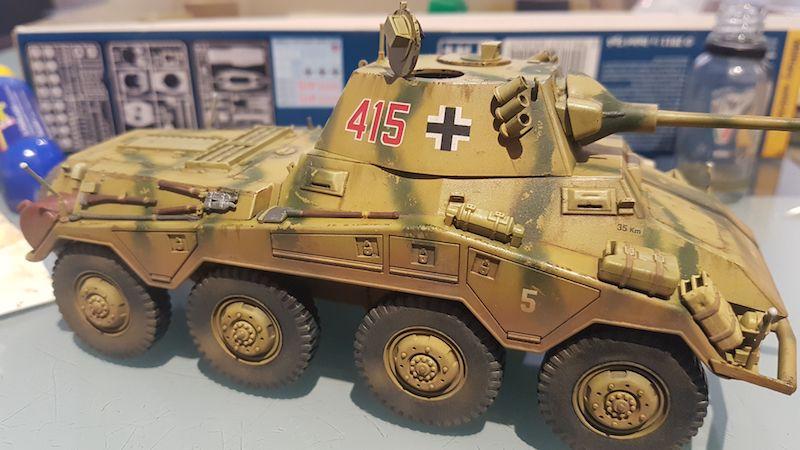 Sd.Kfz. 234/2 PUMA - Italeri 1/35 Img-2066