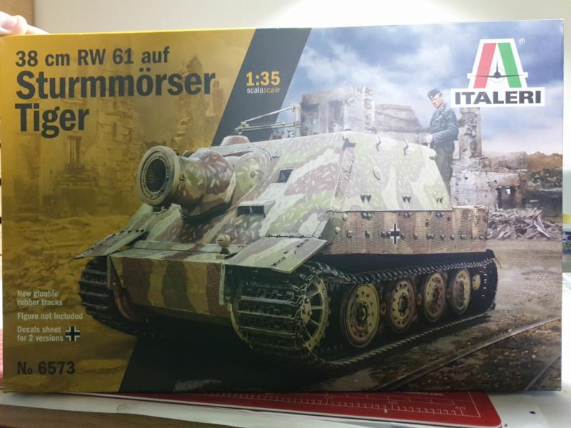 Sturmmörser Tiger - Italeri 1/35 Img-2148
