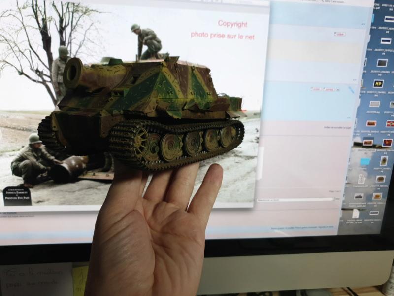 Sturmmörser Tiger - Italeri 1/35 Mise a jour le 25/11 - Page 5 Img-2163