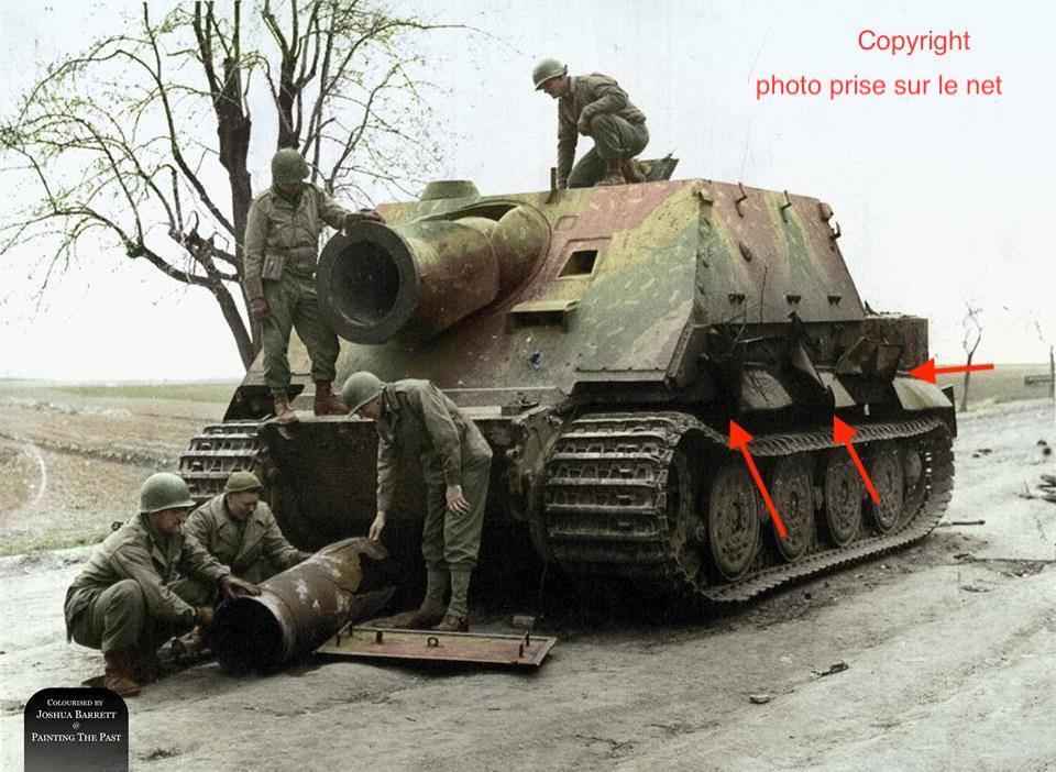 Sturmmörser Tiger - Italeri 1/35 Mise a jour le 25/11 - Page 2 Sa5cmc17
