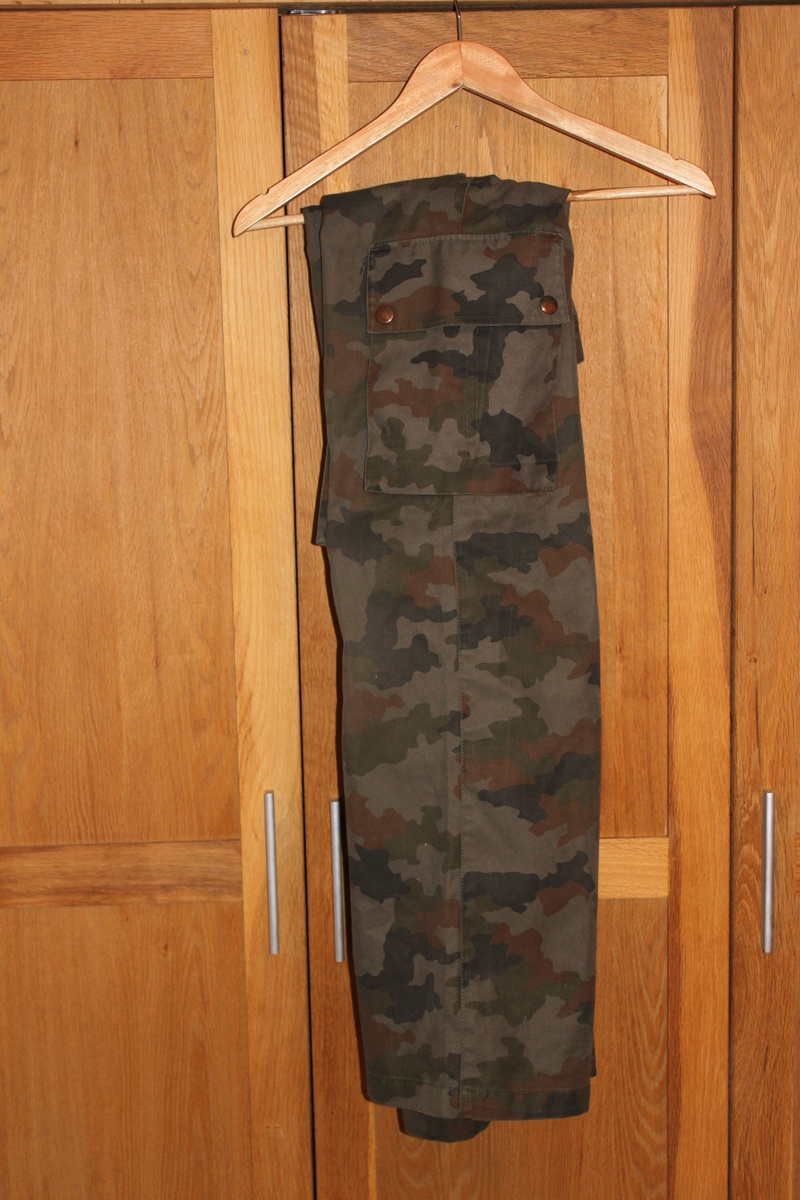 M 91 Woodland puzzle Trousers-non ripstop Img_2224