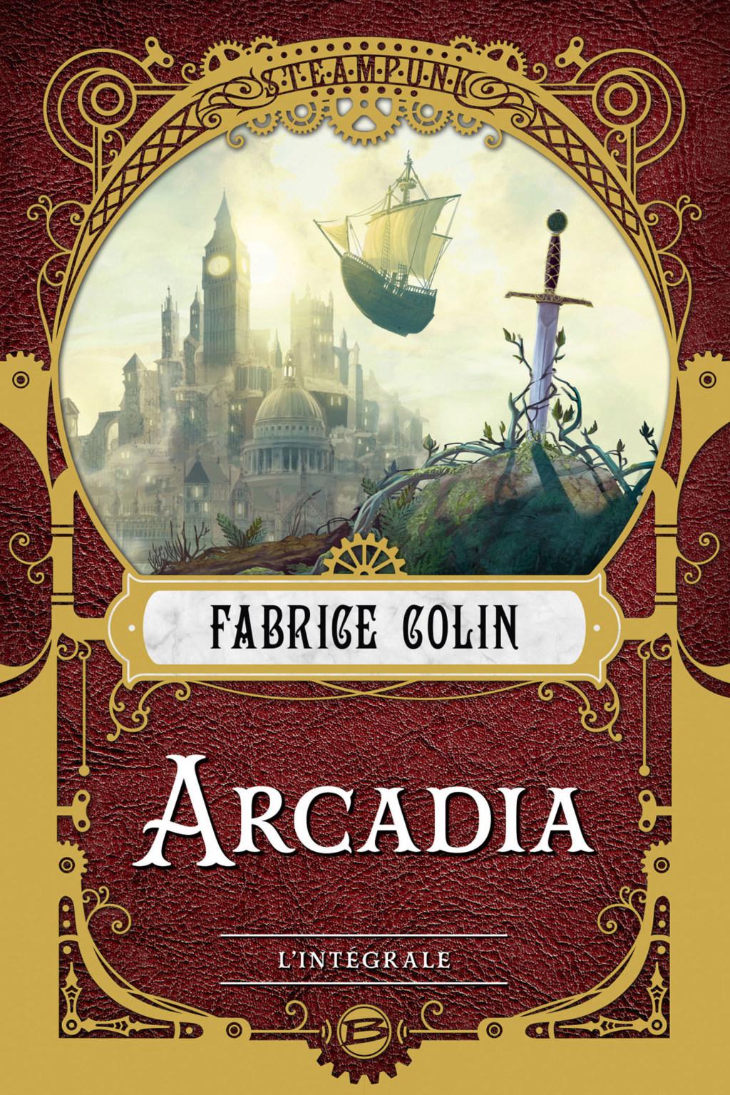 COLIN Fabrice - Arcadia l'intégrale Arcadi10