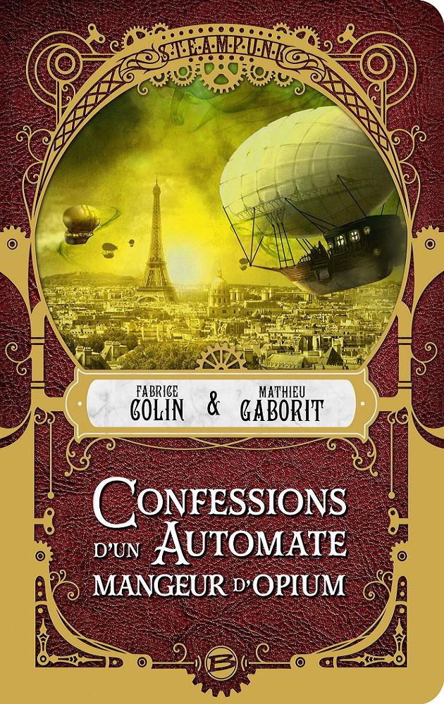 COLIN Fabrice & GABORIT Mathieu - Confessions d'un automate mangeur d'opium Confes10
