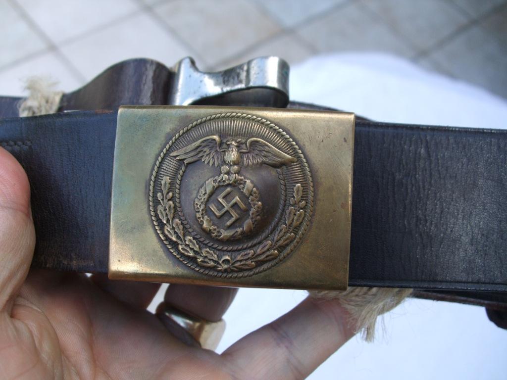 Vos boucles officiers / feldbinde Ceintu16