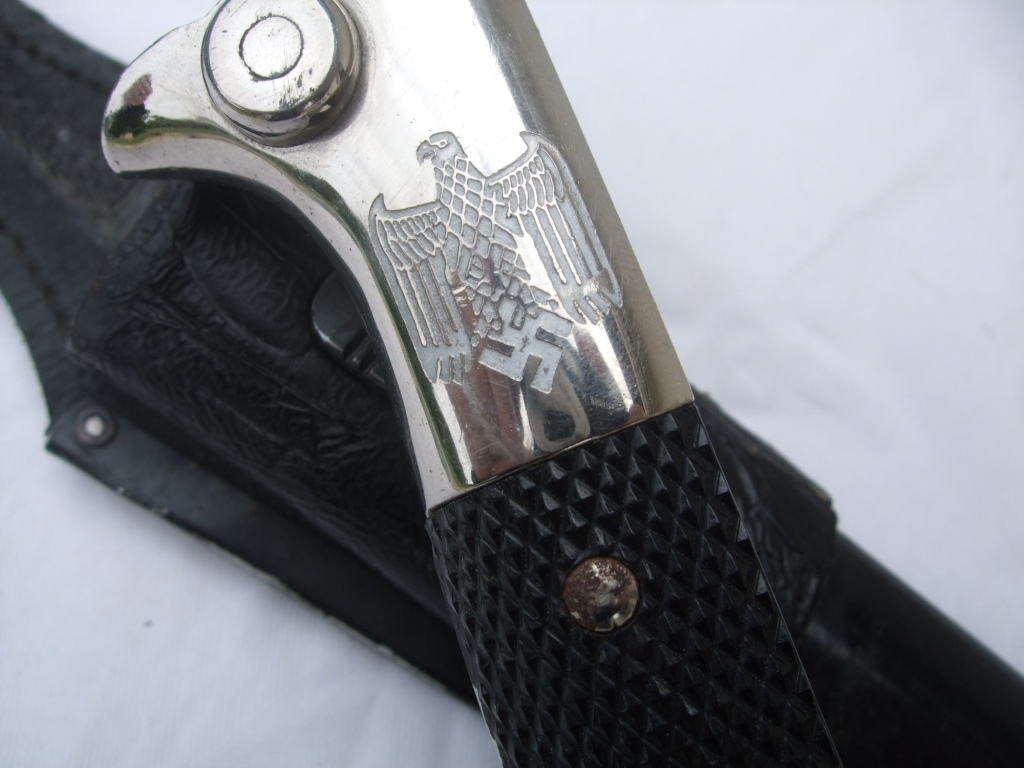 Baionnette de sortie avec pommeau gravé Dscf9915