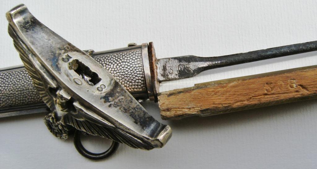 Dague Allemande  2 guerre  Gouv_a16