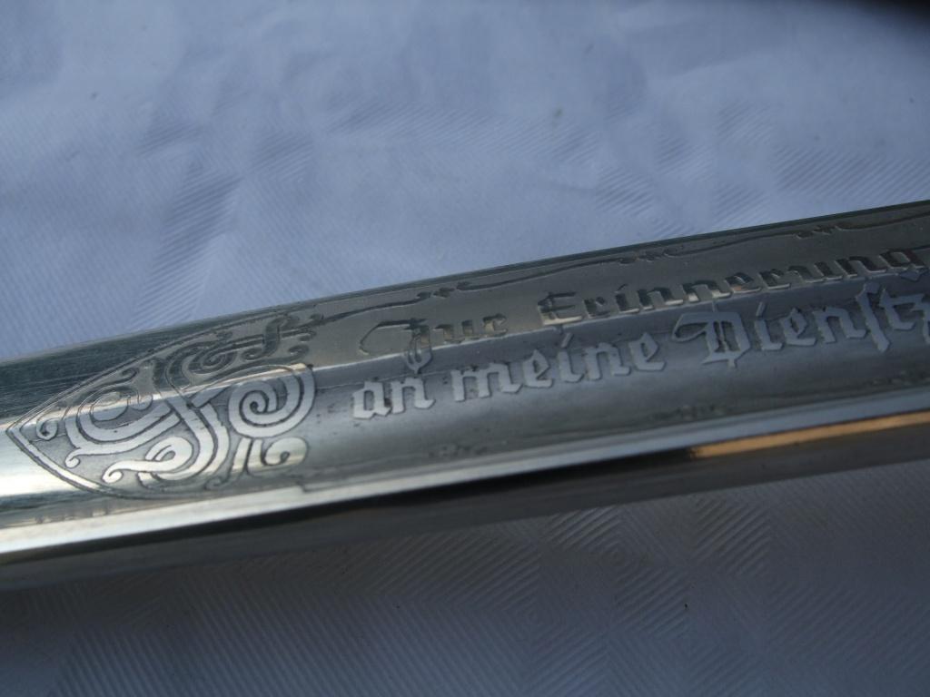 """Baïonnette commémorative """"en souvenir de mon temps"""" de la Luftwaffe. Luft_s16"""
