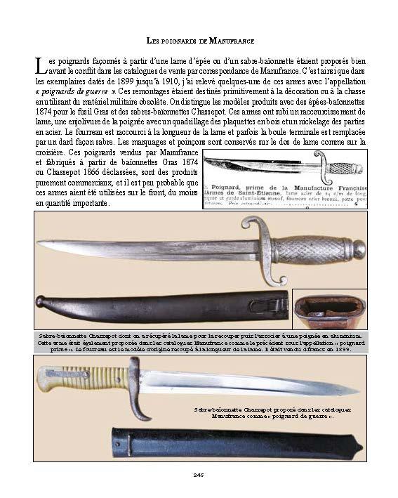 Poignard Prime de la Manufacture d'armes et cycles de St Etienne (1ere GM) Livre_12