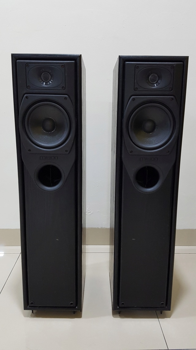 Mission 733 Floorstand Speaker (Sold)   146