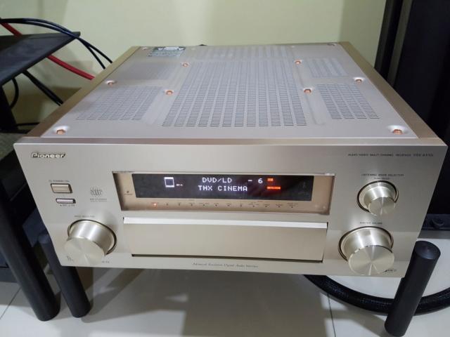Pioneer Flagship model VSX AX10i ( Sold) 338