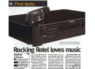 Rotel RCD 1070 - 5 Star Awards CD Player (Sold) Rotel_11