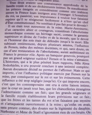 farr - Marie-Antoinette et le comte de Fersen, la correspondance secrète, d'Evelyn Farr - Page 8 Le_com11