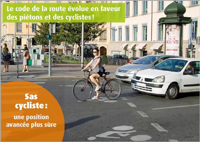 Le code de la route cycliste 1310