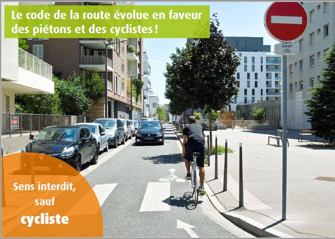 Le code de la route cycliste 310