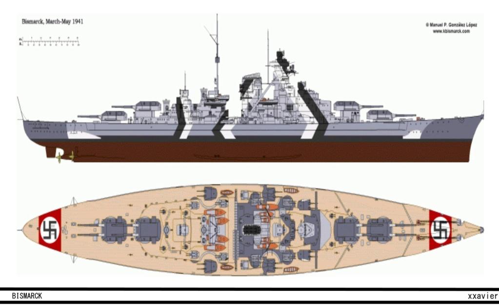 Bismarck au 1/700 de Meng  - Page 2 Page1310